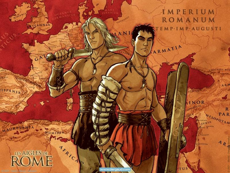 les aigles de rome, marini, bd
